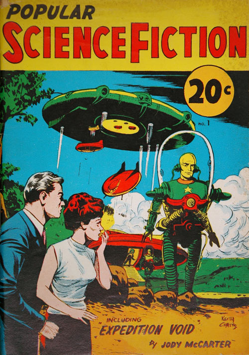 Cabinet 13: Science Fiction & Fantasy, The Pulp Fiction ...