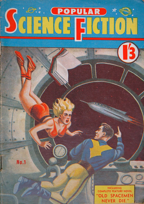 Cabinet 14: Science Fiction & Fantasy, The Pulp Fiction