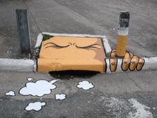 Smokefree forum - street art