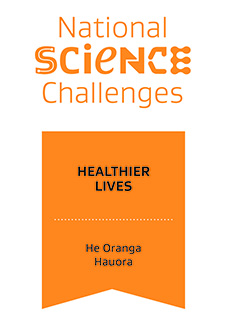 Healthier Lives National Science Challenge logo
