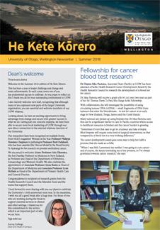 He Kete Korero - 2018 Summer full front page