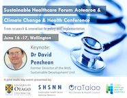 Sustainable Healthcare and Climate Health Conference Aotearoa 2020 Flyer thumbnail